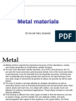 Chapter 3 Metal