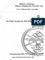 Sea Water Systems for HM Surface ship