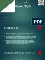 Diseño de Proyectos de Investigacion