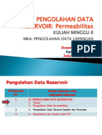 2-Pengolahan Data Reservoir