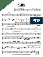 Atziri - Clarinete 1 Bb
