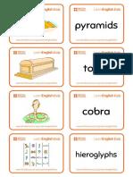 Flashcards Ancient Egypt 2018