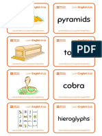 Flashcards Ancient Egypt 2018