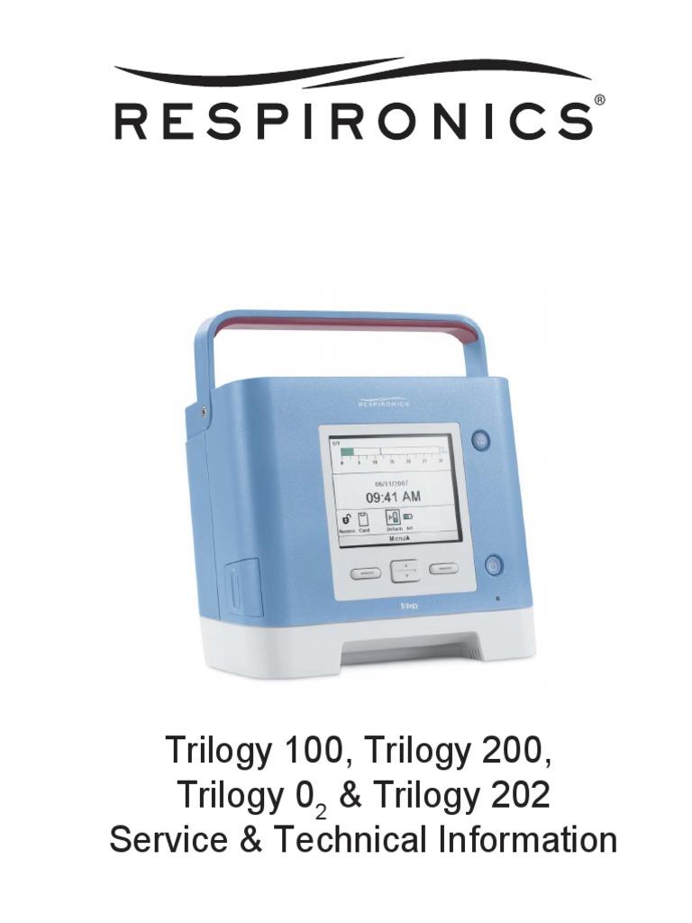 respironics trilogy service manual electromagnetic compatibility rh scribd com