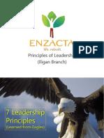 Enzacta Leadership Principles