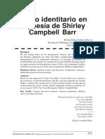 RA. El Giro Identitario en La Poesía de Shirley Campbell Barr