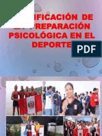 Intervencion Del Psicologo en El Deporte