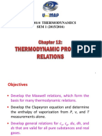 Chapter 12 - Thermodynamic Property Relations