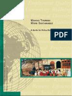 Tourism Sustainability