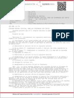 Ley 20774 Modifica Artículo 64 CPC Suspensión Procedimiento