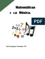 Las Matemáticas y La Música