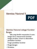 (1) Identitas Nasional 2