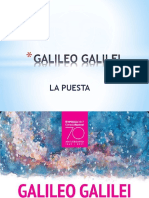 Galileo Galilei Puesta