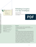 Rethinking Corruption in Age of Ambiguity