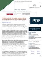 ConJur - Maceno Lisboa_ a Modulação de Efeitos de Decisão Tributária