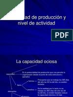 Capacidad de Producci%F3n y Nivel de Actividad
