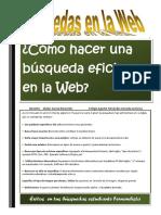 Búsquedas Eficientes en La Web