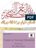 Dr. Hala Trends in Nursing