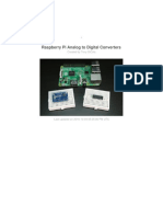 Raspberry Pi Analog to Digital Converters