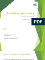 Prospección geoquímica