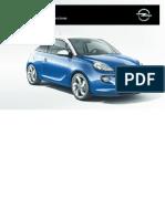 Opel Adam Manuale Del Proprietario I