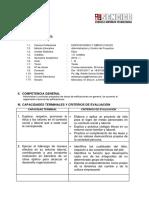 Silabo Edificaciones y Obras Civiles i B-etica