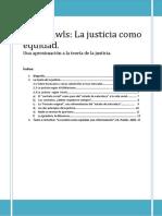 Rawls Apuntes Biografia Obra y Teoria Curso 14-15