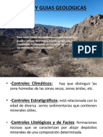 Controles y Guias Geológicas
