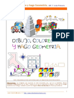 Dibujo Coloreo Geometria