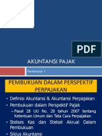 Akuntansi pajak - 1