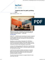 Vietnam News - Bright Prospects Seen for Paint, Printing Ink Industry