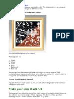 Method of Warli Paintings