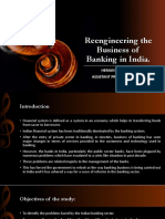 Reengineering the Business of Banking in India