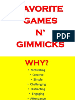 Games n' Gimmicks-long Ppt