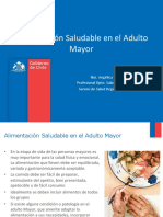 Alimentacion Saludable Adulto Mayor