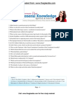 5000 General Knowledge Questions in English