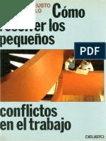 Cómo Resolver Los Pequeños Conflictos en El Trabajo - DeUSTO