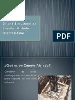 Diseño Estructural de Zapatas Aisladas Efecto Biaxial