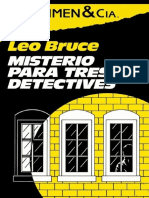 Misterio Para Tres Detectives - Leo Bruce