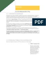Capítulo 5 Reglamento Siglo 21 Trabajo Final de Graduación