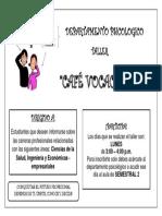 Afiche de Tecnicas y Habitos de Estudio