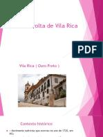 Revolta de Vila Rica Slides