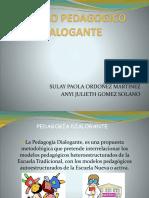 Modelo Pedagogico Dialogante