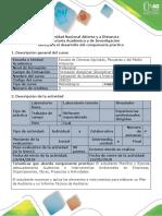 Guía Para El Desarrollo Del Componente Practico - Paso 4. Auditoria- Aprendizaje Practico-Trabajo Practico