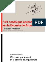 101 cosas que aprendi en la Escuela de arquitectura.pdf