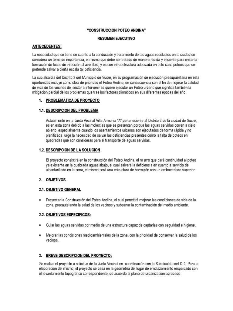 Magnífico Escribir Plantilla De Resumen Ejecutivo Motivo - Ejemplo ...