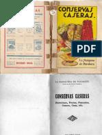 Libro - Conservas Caseras