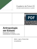 Lagos, M. y P. Calla. Antropologia-Del-Estado-libro-1