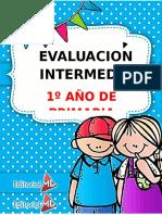 Evaluacion Intermedia Primero de Primaria 1