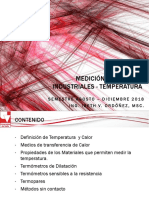 Medición de Temperatura